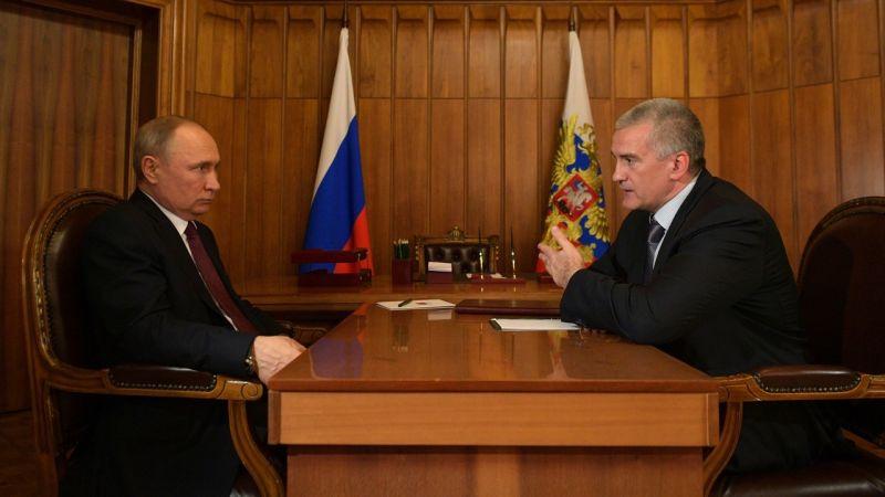 Встреча с главой Крыма Сергеем Аксеновым.