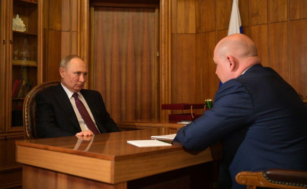 Встреча с врио губернатора Севастополя Михаилом Развожаевым.