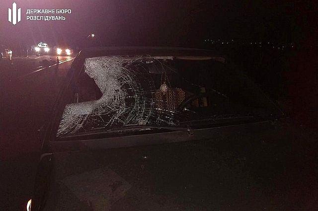 В Харькове работник ГСЧС сбил пешехода, на которого затем наехал грузовик