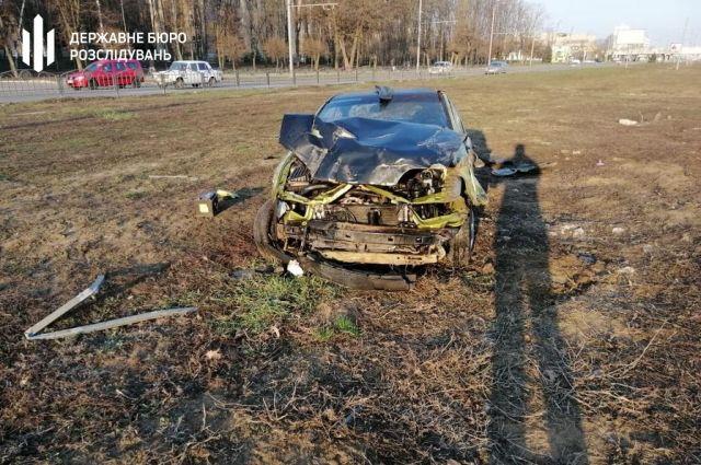 В Харькове произошло ДТП: пострадали четыре правоохранителя