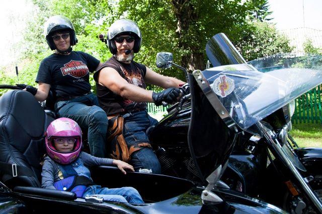 На мотоцикле - хоть куда!