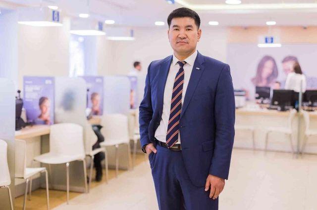 Управляющий ВТБ по Забайкальскому краю Николай Халмактанов.