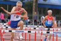 Валерий Давыдов завоевал три золота в своей возрастной группе.