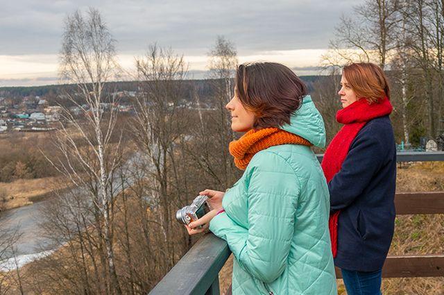 Прогулки по Боровску — неотъемлемая часть занятий фотостудии.