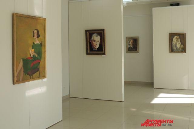 В Оренбурге последние дни открыта выставка «Художник и модель».