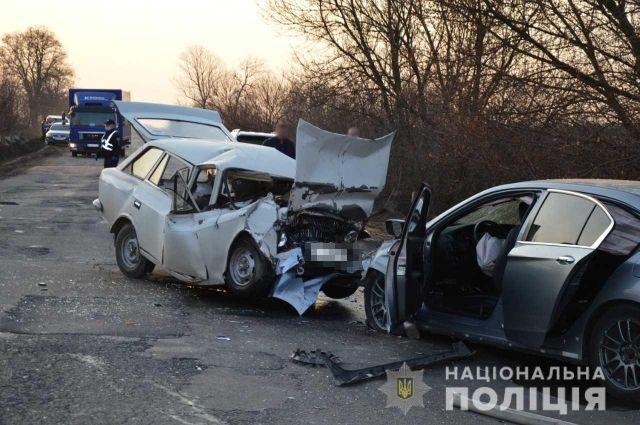 В Одесской области произошло ДТП: один человек погиб, четыре пострадали