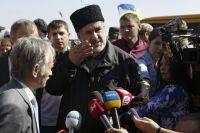 Глава Меджлиса крымско-татарского народа Рефат Чубаров.