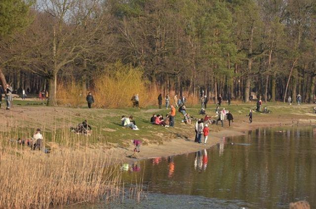 Отдых в парке, кофе: как киевляне «соблюдают» карантин