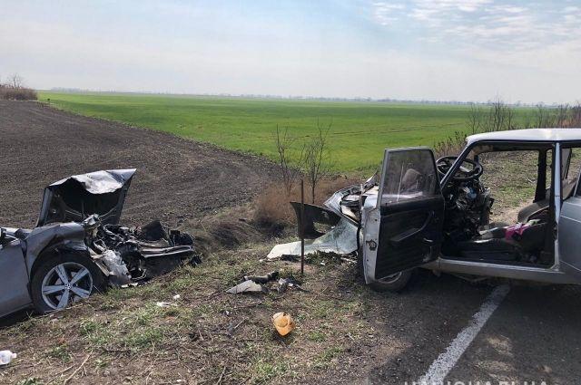 В Херсонской области произошло ДТП, в котором погиб полицейский