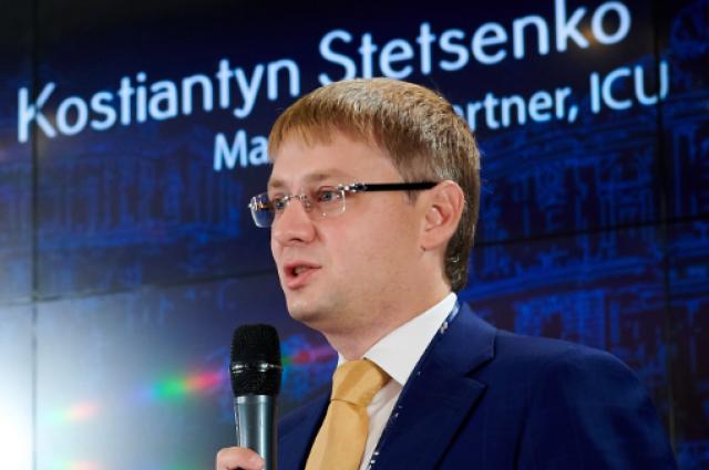 Учредитель ICU Константин Стеценко - персона года фондового рынка Украины