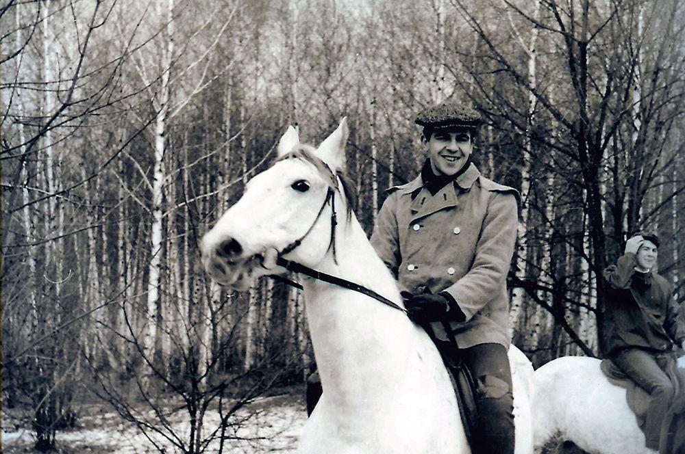Сергей Лавров во время отдыха. (Фото из архива автора).
