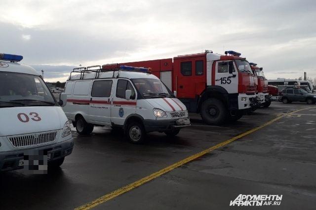 Все экстренные службы аэропорта в Перми приведены в боевую готовность.