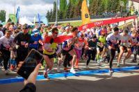 2000 бегунов стартуют в Красноярске.