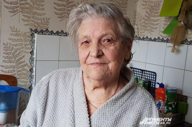 Таисия Чернова потеряла во время войны родителей.