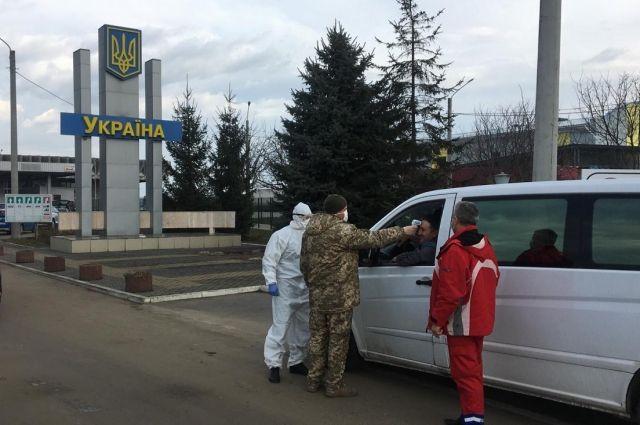 В Погранслужбе рассказали о ситуации на пунктах пропуска 23 марта