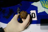 В Одесской области пьяный мужчина пришел на заправку с гранатой