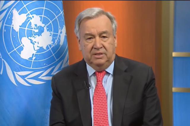 Генсек ООН призвал прекратить войны для борьбы с коронавирусом