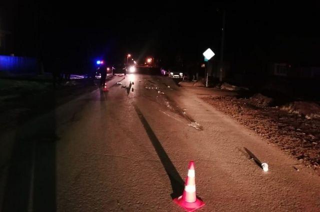 ГИБДД разыскивает водителя, сбившего пешехода под Тюменью