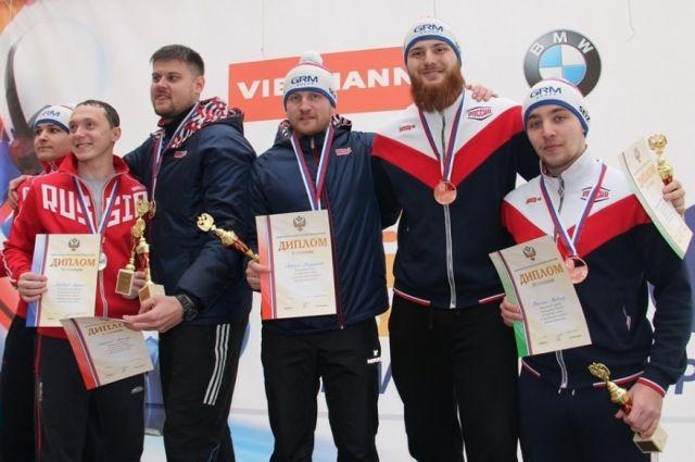 Красноярские саночники показали лучший результат чемпионата.
