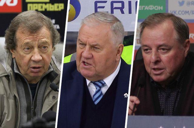 Юрий Семин, Владимир Крикунов и Александр Тарханов.