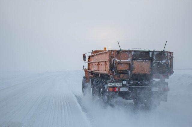 Из-за плохой погоды закрыли зимник Коротчаево – Красноселькуп