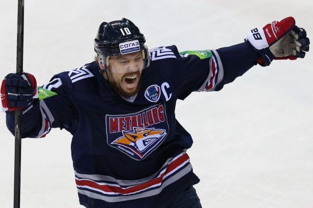 Хоккеист Сергей Мозякин покидает магнитогорский «Металлург»