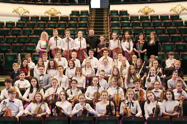 Оркестр юных музыкантов известен не только в регионе и России, но и за рубежом.