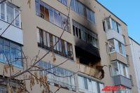 ЧП произошло в д. № 3 по ул. Чернышевского, на четвёртом этаже.