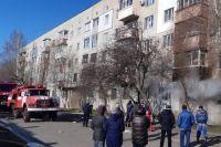 В Харьковской области произошел пожар и взрыв в многоэтажном доме