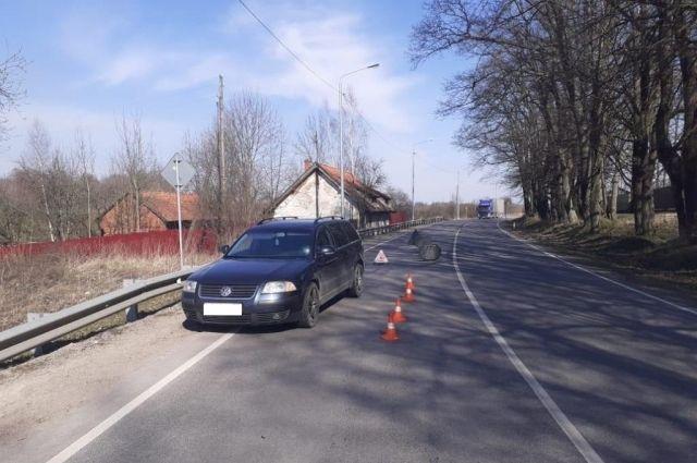 В Черняховском районе сбили подростка, выбежавшего на дорогу