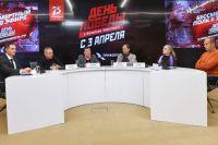 Пресс-конференция, посвящённая запуску социально-мультимедийного проекта «Триколора» «День Победы», посвященного 75-летию Победы вВеликой Отечественной войне.