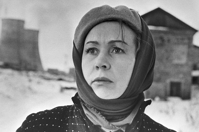 «Они не пройдут», 1965 год. Актриса Инна Макарова в роли Софьи Якимовой.
