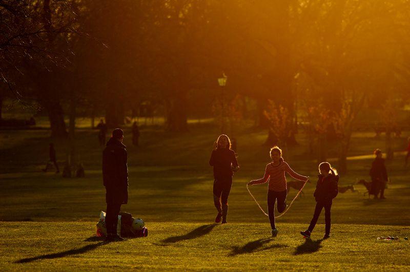 Дети в одном из лондонских парков.