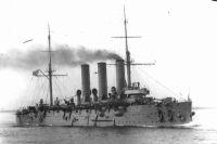 Крейсер «Аврора» в 1916 году.