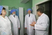 Виктор Томенко проверяет готовность госпиталя