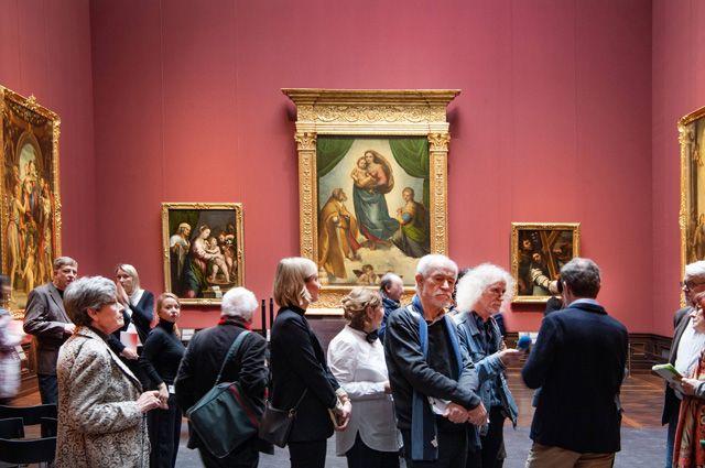 Дрезденская галерея.