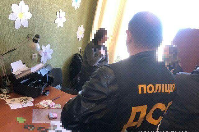 В Луганской области чиновницу задержали на взятке в размере 10 тыс гривен