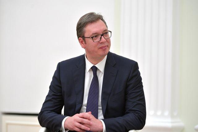 Вучич рассказал о «грабеже» на мировом рынке аппаратов ИВЛ