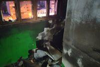 Установлено, что причиной возгорания стала детская шалость.