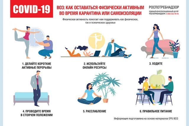 Упражнения, которые помогут поддержать тело.