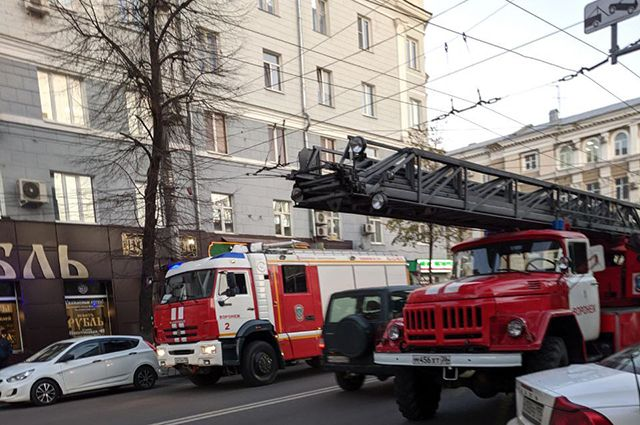В Ижевске на пожаре погибли двое мужчин