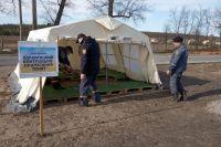 В Луганской области на блокпостах будут дезинфицировать транспорт