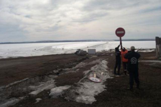 Специалисты обследовали 285 мест возможного выхода людей и выезда машин на лёд.