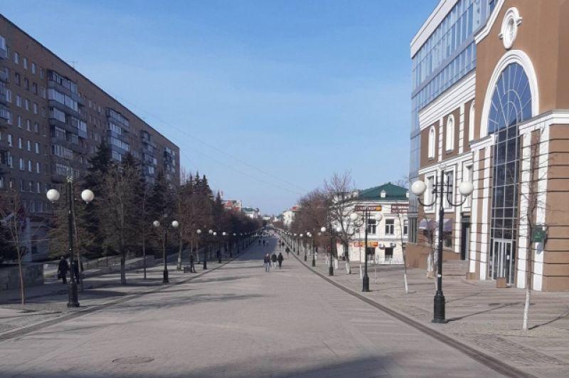 Главная пешеходная улица Пензы - Московская.
