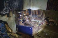 В Харьковской области мужчина поджег жену: пострадавшая скончалась