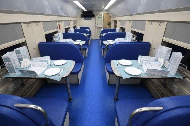 РЖД временно закроет вагоны-рестораны для пассажиров в поездах