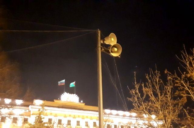 Из громкоговорителей в Тюмени будут звучать призывы остаться дома
