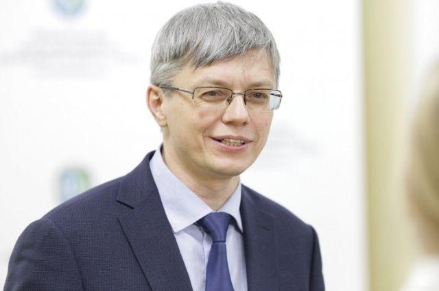 Директор окружного департамента здравоохранения Алексей Добровольский
