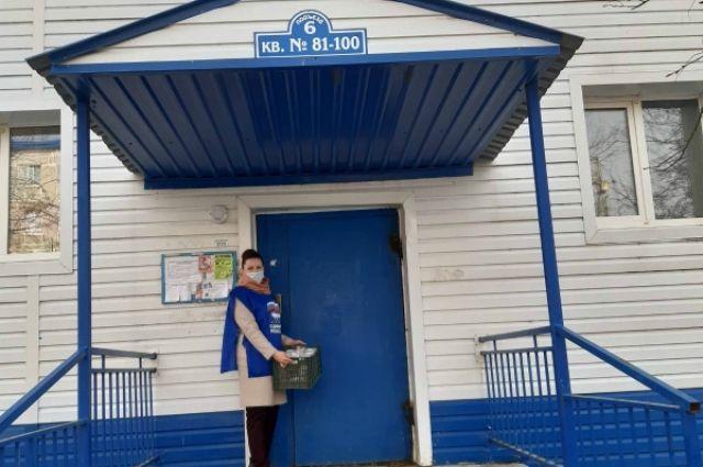 Волонтеры Абатского и Ишимского районов помогают пенсионерам