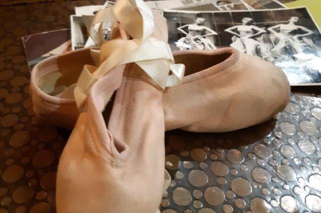 Старая балетная обувь. Свои пуанты Анна Калинина хранила не один десяток лет.